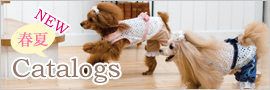 犬服コレクションの最新カタログダウンロード